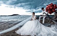 金夫人|高端个性婚纱照三亚旅拍路线