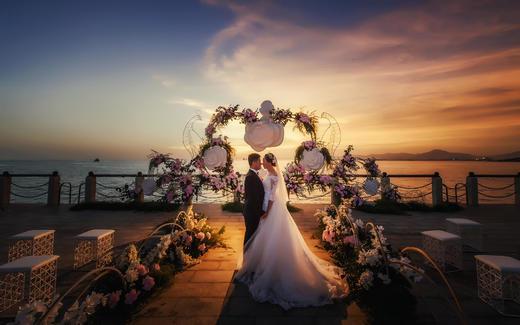 三亚悦榕庄婚礼——花园里的邂逅