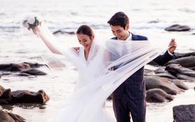 三亚维蜜摄影【大小洞天】海景蜜月婚纱照