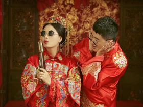 「中式古典婚纱照」传承经典