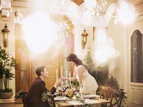 韩式婚纱照《马奈幻想曲》系列