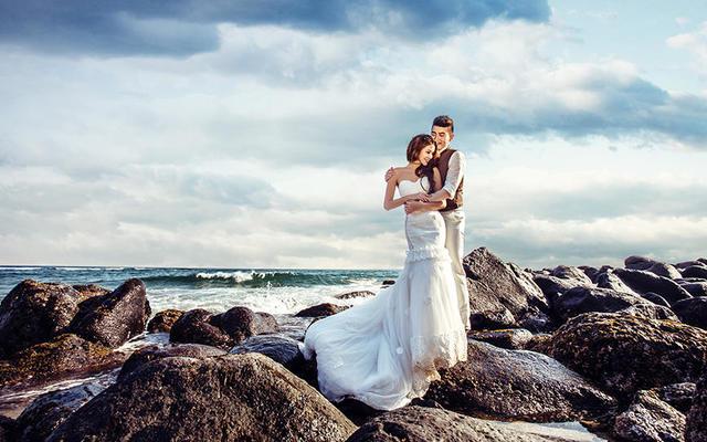 带着婚纱去旅行-济州岛海景
