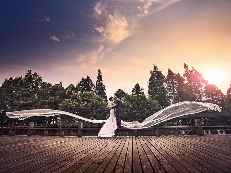 新娘福利团纯拍系列B套 唯美婚纱照