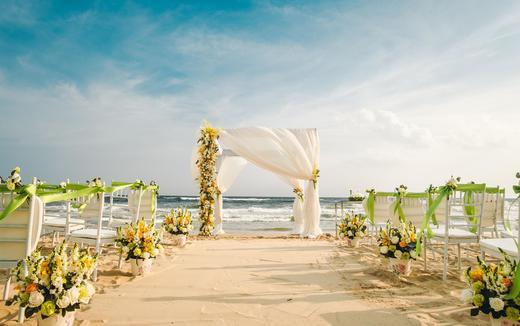 三亚微奢婚礼 | 沙 · 石