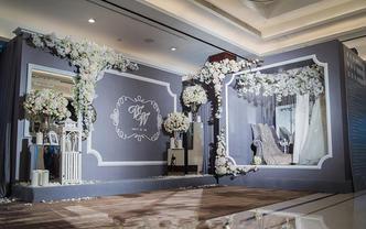 【缤洛婚礼】创意蓝灰色系《爱之香气 以爱之名》