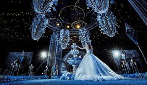 WE婚礼定制-大气水晶婚礼 送司仪 跟妆 摄像