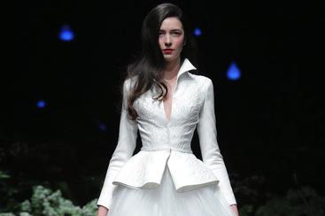 【Shenbai】西服套裙婚纱