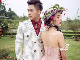 【艾尔视觉】成都法式玫瑰园婚纱照