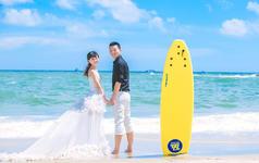 北海银滩婚纱照客片欣赏