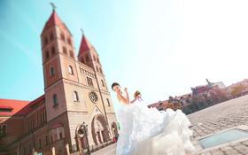 米娜视觉婚纱摄影--德式建筑--教堂