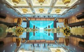 蒂芙尼蓝色搭配香槟黄色套餐38000元