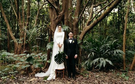 玛奇朵婚纱摄影『植物园森林』