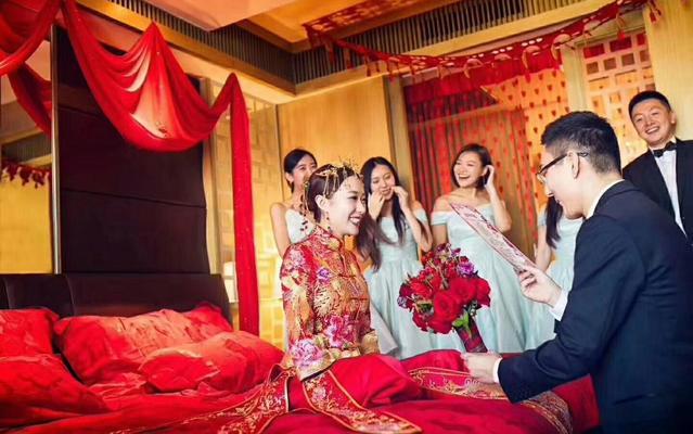莉莎·艾薇客户返照中式婚礼