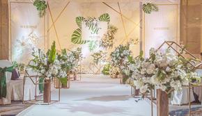 【春芭蕾婚礼会馆】-《最好的我们》白金绿色婚礼