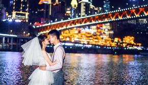 【定制系列】森林系+重庆夜景+时尚街拍+水下婚纱