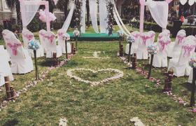 Miya西花园浪漫草坪婚礼