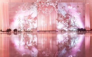 皇嘉主意婚礼-古风桃花主题婚礼《桃缘》