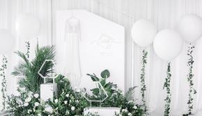 【沐堇婚礼企划】拾忆 白绿治愈系 小清新婚礼
