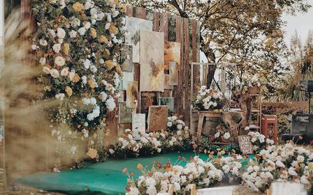 【伴】万达铂尔曼精选户外婚礼,花艺设计效果满分