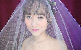 春意柔柔的鲜花新娘造型,你心动了吗?