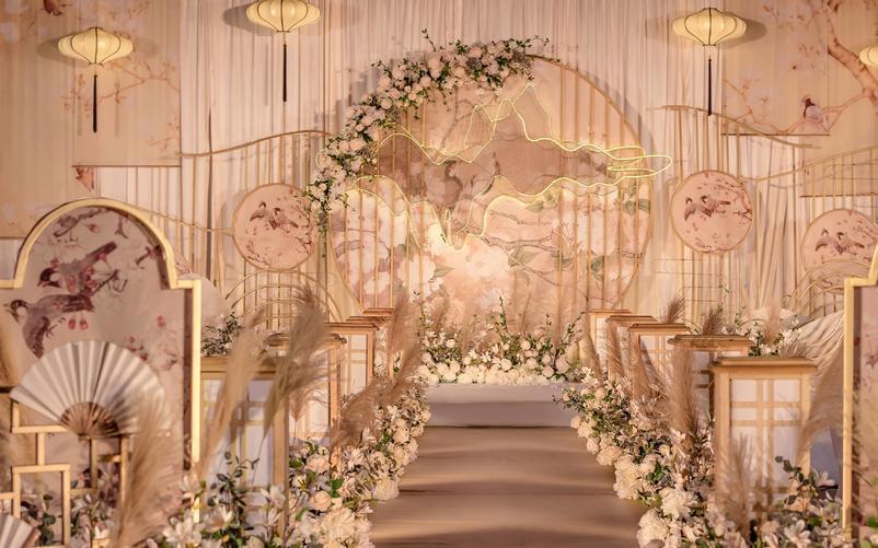 新中式《绮梦》香槟金婚礼●反射光婚礼