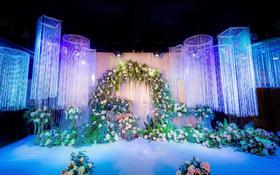时光印迹 迷人的婚礼布场 浪漫的森系风格