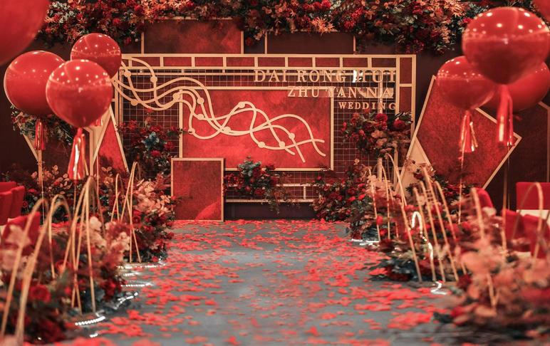【威柠旺斯】新室内婚礼|爱的礼赞