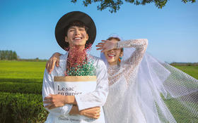 洛可可婚纱摄影——济州岛茶田