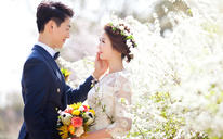 1元秒杀系列 韩式婚纱照