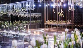 艾薇婚礼会馆  水晶系列精装吊顶