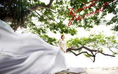 【三亚站】摄影总监蜈支洲岛送高清微电影拖尾婚纱