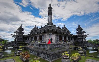 爱旅拍巴厘岛•客照欣赏•黑塔建筑博物馆