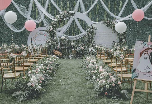 【卡朋宴会定制】纯粹的森系户外婚礼