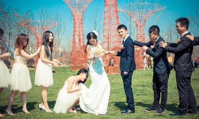 外景—— 婚礼中的浪漫