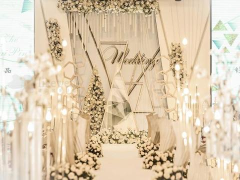 【意匠婚礼】香槟色婚礼鲜花,下单即送即拍即影