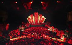 -蜜途婚礼-红黑色系-Red Queen
