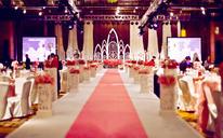 婚礼鲜花布置【婚礼日记】红色记忆+一价全包省心婚礼(含人员)