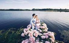 婚纱是女人的梦想,为你穿上婚纱才是我的向往。