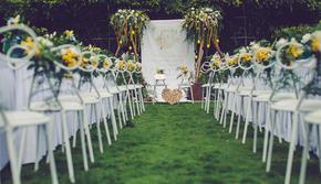 和韵 · 小清新婚礼 柠檬主题户外婚礼