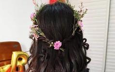 花漾系列-甜美的韩式新娘女神造型