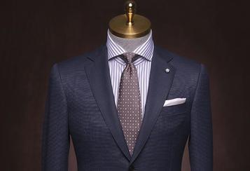 丹特 纯灰色素色西服套装