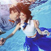 【水下拍摄】海洋之心-水下梦幻婚纱套系Ⅰ