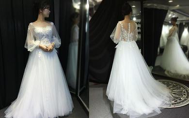 【怦然心动】可爱新娘试纱照