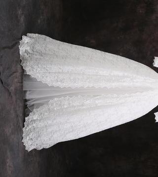 小清新仙女风齐地婚纱系列