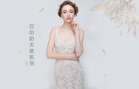 【Exquisit】蕾丝镂空优雅鱼尾主纱