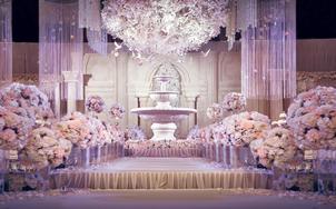 【洛维思·印象】淡紫色繁花秘境梦幻定制婚礼