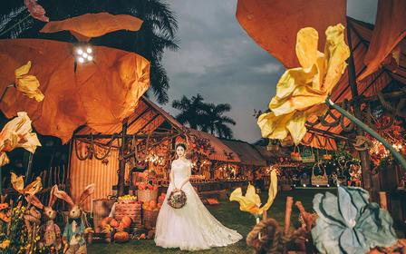 【诺丁山婚礼企划】唯美创意海岛系婚礼·秋瑟蜜语