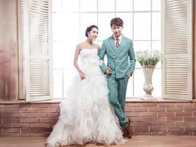 清新韩式婚纱照 让美丽瞬间永恒
