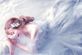 跟妆客片︱甜美气质婚礼造型