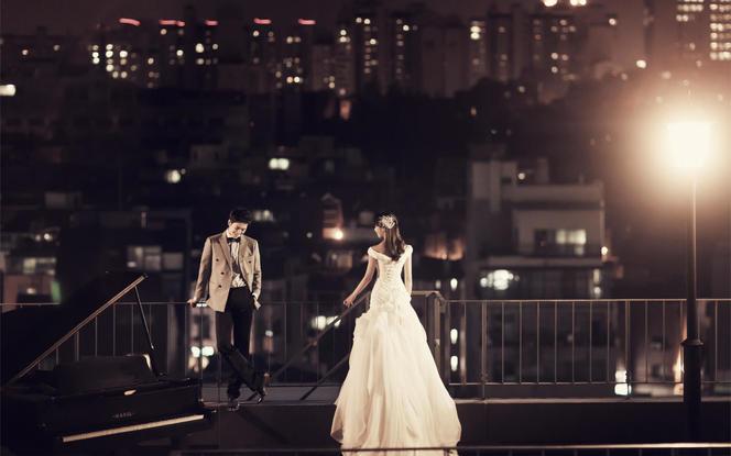 花神国际婚典机构嫁给爱情系列婚纱照